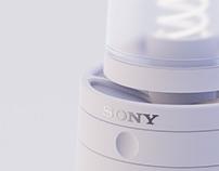 Sony - Glass Speaker