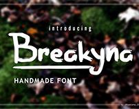 Free Font Handmade Brush