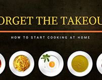 Forget the Takeout: How to Start Cooking at Home
