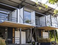 ARQ . Módulos habitacionales Clarín