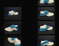 Adidas shoe modeling