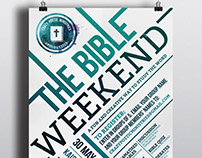The Bible Weekend poster