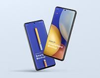 Phone Mockup Galaxy S21