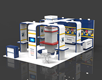 Exhibition booth concept for Mobile Technology company