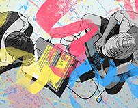 Art Directed Illustrations: Adobe