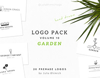 Hand drawn Garden Logo
