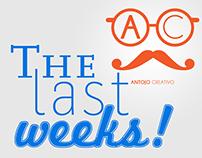 The last weeks!