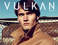 "Editorial ""One man's story"" for VULKAN magazine"