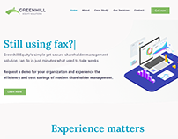 Enterprise SaaS Lead Gen Site