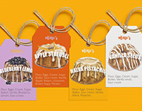 Mino's-bundt cakes brand-branding