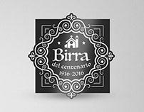 Birra del Centenario - Label