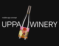 UPPA WINERY / Mobile app concept