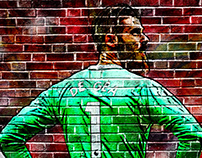 Graffiti Design - De Gea