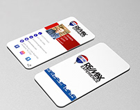 Roll up business card