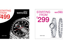 Ad banners | Watches