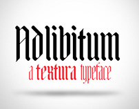 Adlibitum Typeface Free Download