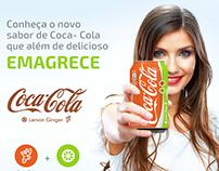 Coca-Cola o sabor que emagrece