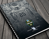 2017 Kentucky Women's Postseason Media Guide Covers