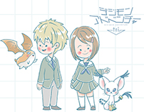 Digimon Adventure tri. // Children's Book Style