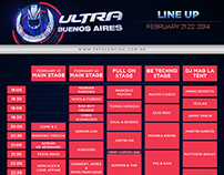 Ultra Music Festival line up