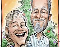 A Christmas Card Couple 2016