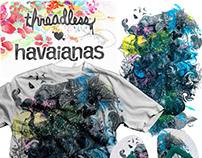 HAVAIANAS, tees and prints!