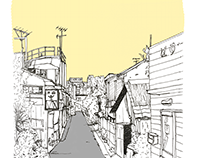The streets of Japan
