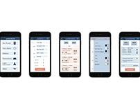 Amtrak Mobile Interface Design