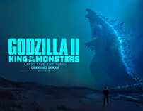 Godzilla: King of the Monsters Key Art