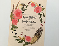 Gilbert Custom Wedding Invites
