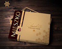 CHOCOLATE COLLECTION - pralines box concept