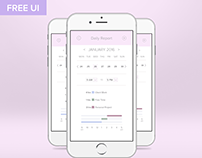 Daily Report. UI Challenge