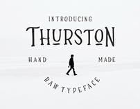 ThurstoN Raw Typeface