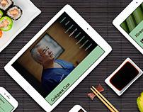Restaurant website - Seiji