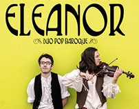 Affiche Eleanor (pop baroque)