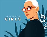 Illustrated Girls 👩🏼🦰 👩🏽🦱 👩🏼