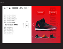 dailyUI #3 - Air Jordan