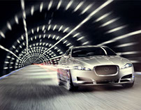 Jaguar Retouch for John Higginson
