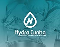 Criação de logotipo para empresa Hydra Cunha