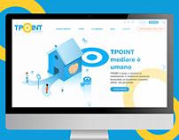 Web design/UI for TPOINT