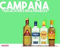 """Diageo - Propuesta Campaña """"Vacaciones Inolvidables"""""""