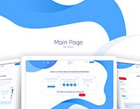 UI/UX Design for Web App SaaS platform Smart Statistica