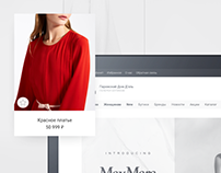 Redesign site of Kazan boutique