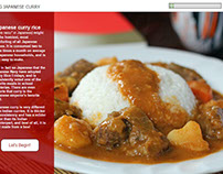 Making Japanese Curry - Interactive e-Learning Tool
