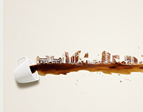 Coffee Art, Skyline - Omaxe Projects