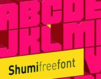 FREE SHUMI FONT