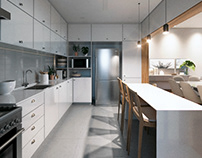 (CGI) apartmet 24 - interior design project
