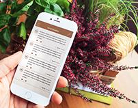 Gratitudes Mobile App Client