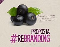 AÇAÍ CABANA - Proposta rebranding | 2016
