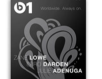Apple Music Beats 1 Poster